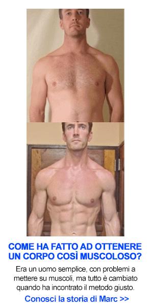 fare muscoli velocemente